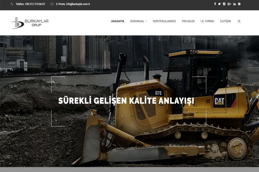 Photo of Burkaylar Grup web projesine başlandı.