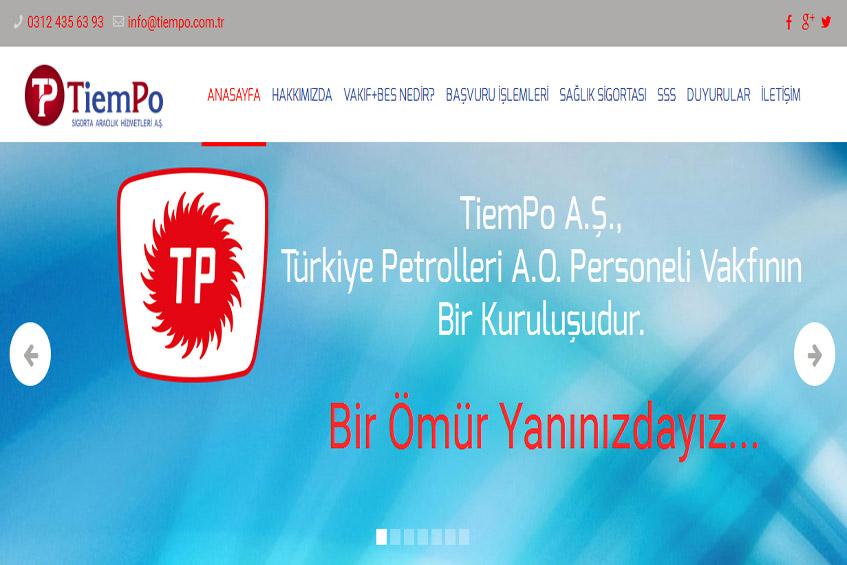 Photo of TiemPo web sitesi yayına alındı