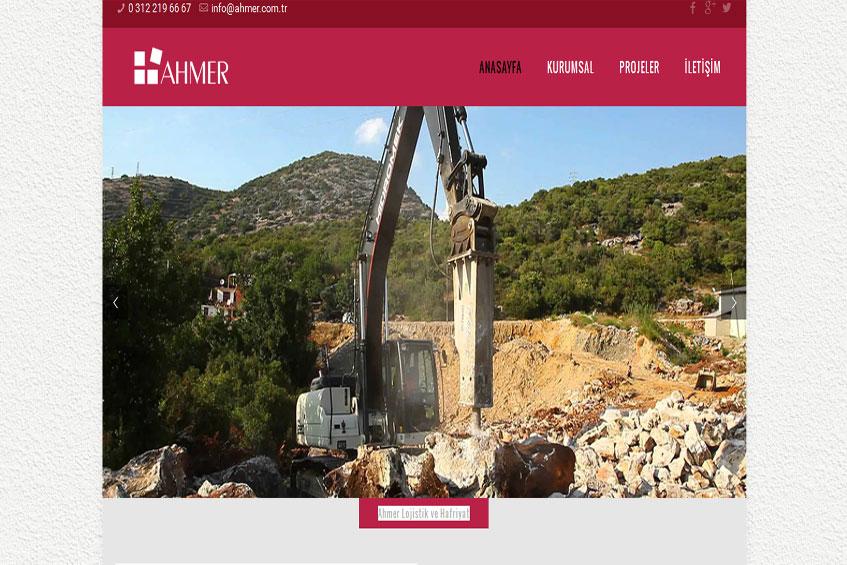 Photo of Ahmer Lojistik ve Hafriyat Web Sitesi Yayına Alındı