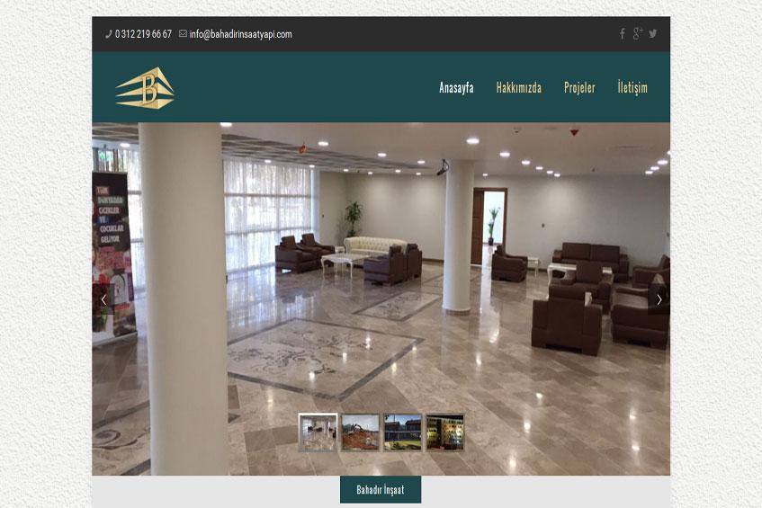 Photo of Bahadır Yapı İnşaat Web Sitesi Yayına Alındı