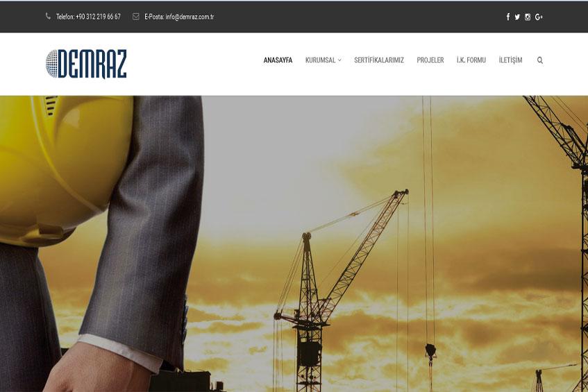 Photo of Demraz İnşaat Web Sitesi Yayına Alındı