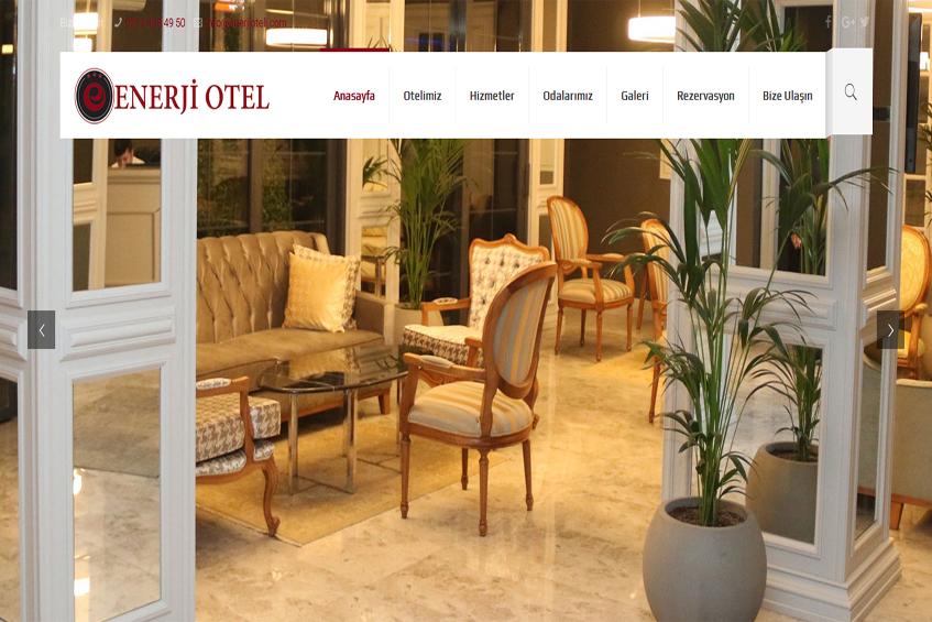 Photo of Enerji Oteli Web Sitesi Yayına Alındı