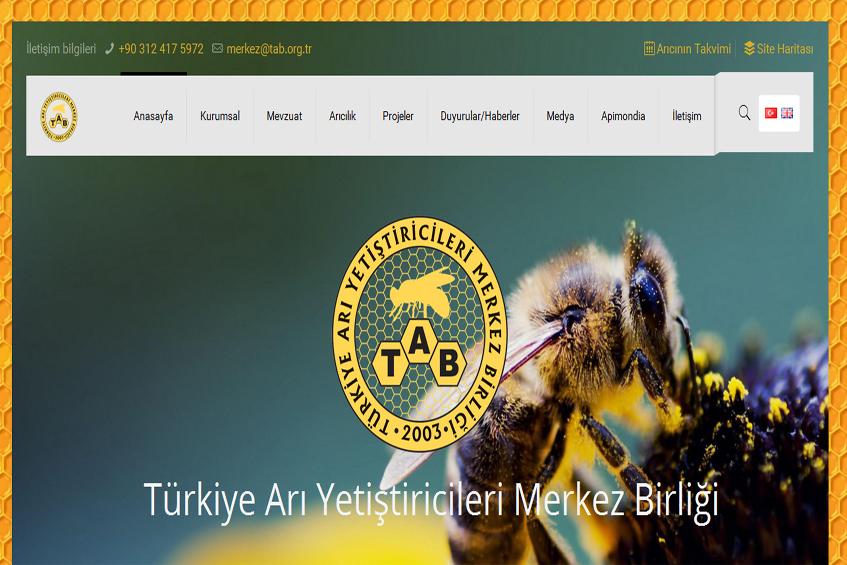 Photo of Türkiye Arı Yetiştiricileri Merkezi Web Sitesi Yayına Alındı