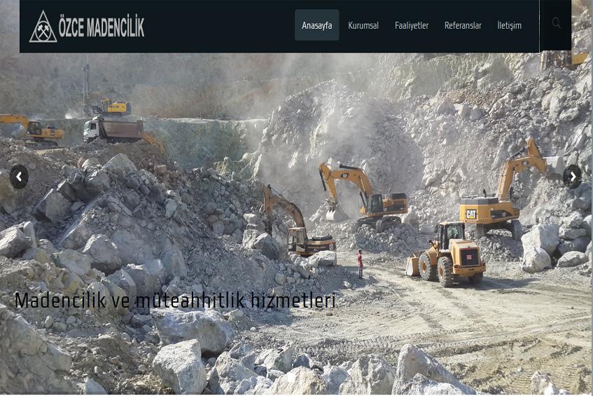 Photo of Özce Madencilik Web Sitesi Yayına Alındı