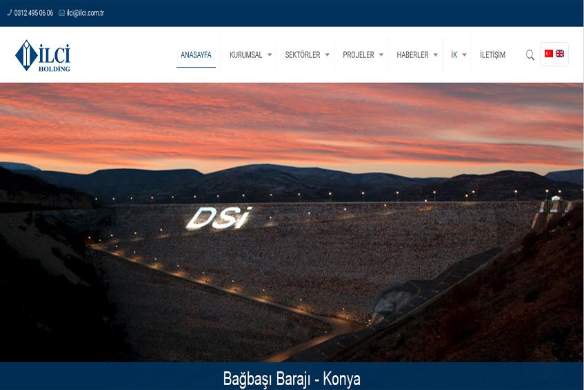Photo of İlci Holding Web Sitesi Yenilenerek Yayına Alındı