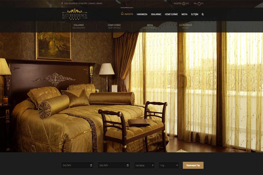 Photo of İlci Residence Hotel Web Sitesi Yenilenerek Yayına Alındı.