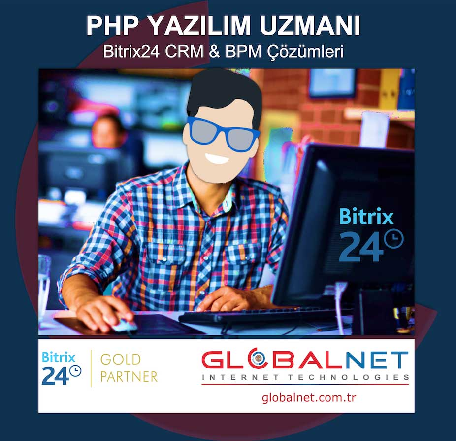 Photo of GLOBALNET, Bitrix24 CRM & BPM Uzmanı Arıyor