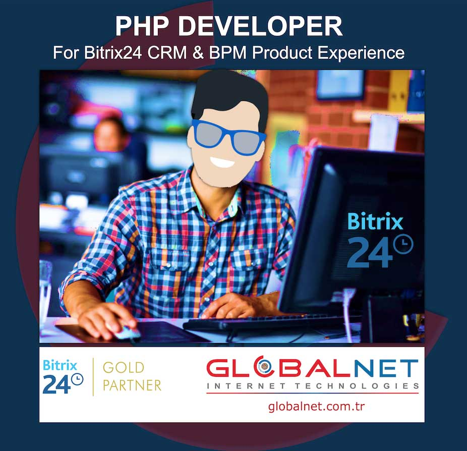 Photo of GLOBALNET is looking for a Bitrix24 CRM & BPM Specialist