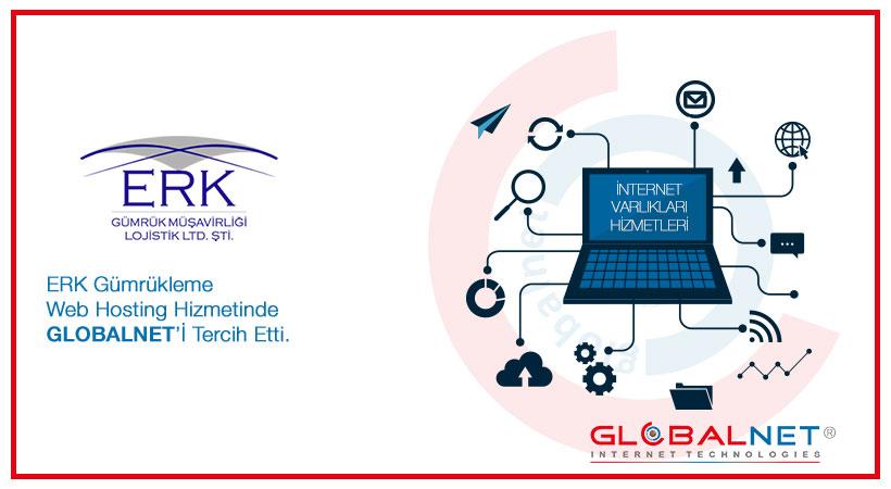 Photo of ERK Gümrükleme Web Sitesi Barındırma (Hosting) Hizmetinde GLOBALNET'İ Tercih Etti
