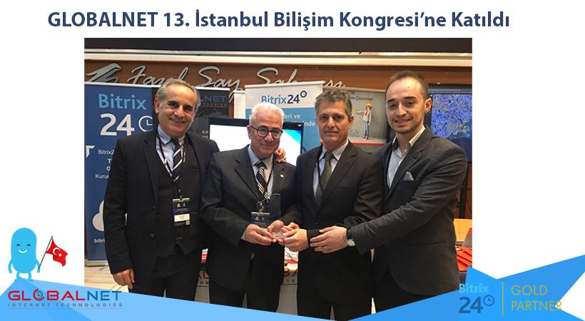Photo of GLOBALNET 13.İstanbul Bilişim Kongresi'ne Katıldı