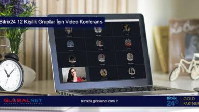 Photo of Bitrix24 12 Kişilik Gruplar İçin Video Konferans