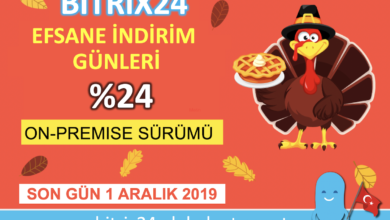 Photo of BITRIX24 EFSANE İNDİRİM GÜNLERİ %24 İNDİRİM
