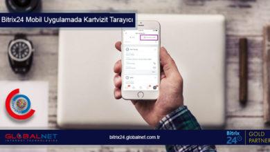 Photo of Bitrix24 Mobil Uygulamada Kartvizit Tarayıcı