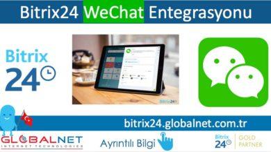 Photo of Bitrix24 WeChat Entegrasyonu