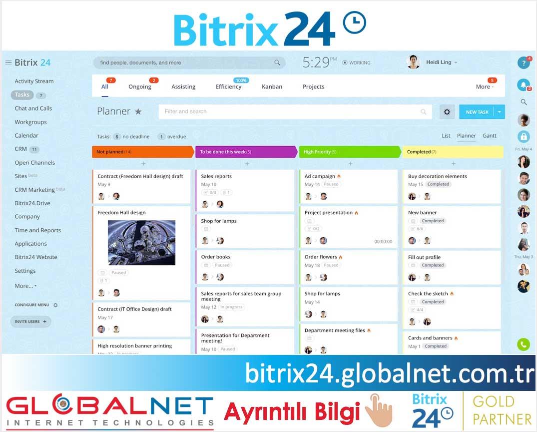 BITRIX24 TÜRKİYE GOLD PARTNER GLOBALNET
