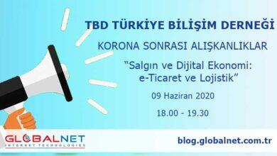 """Photo of TBD Korona Sonrası Alışkanlıklar """"Salgın ve Dijital Ekonomi: e-Ticaret ve Lojistik"""" Webinarı Düzenleniyor"""