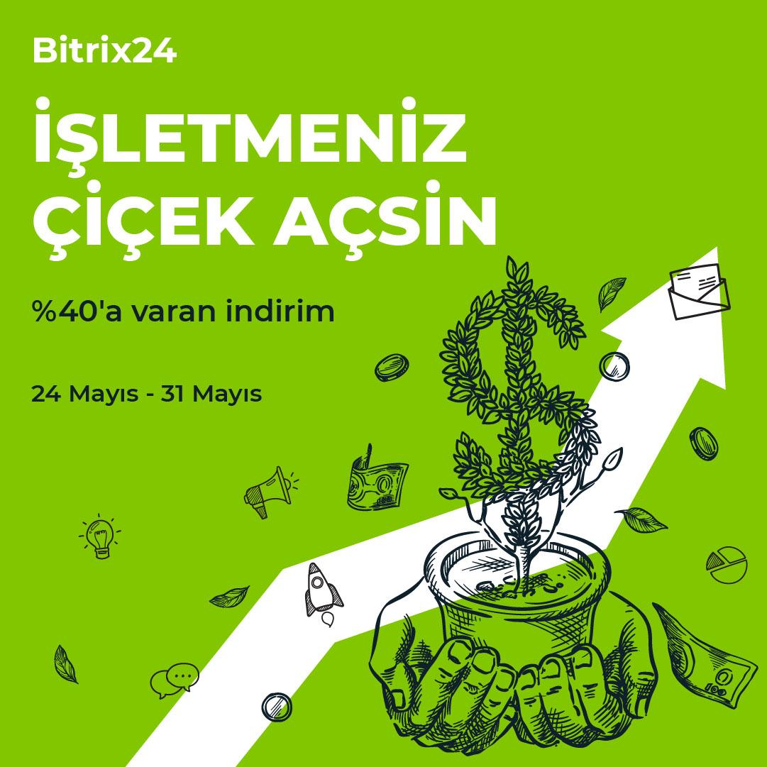 Bitrix24 CRM indirimi