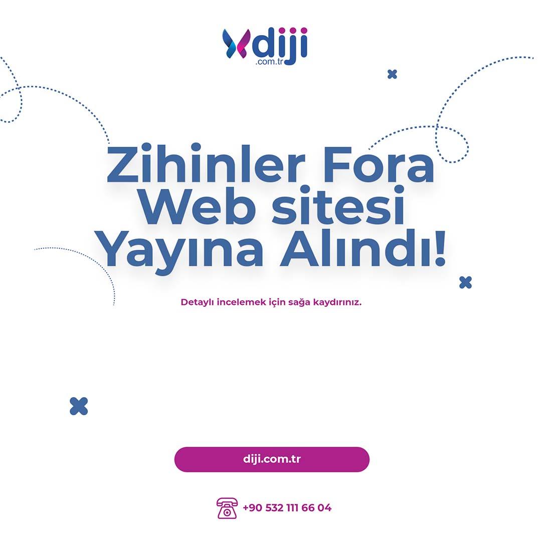Zihinler Fora Web Sitesi Yayına Alındı