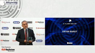 GLOBALNET CEO'su Ertan Barut Türkiye Bilişim Sektöründe 35 Yıl Emek Ödülüne Layık Görüldü