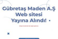 GÜBRETAŞ WEB SİTESİ YAYINA ALINDI